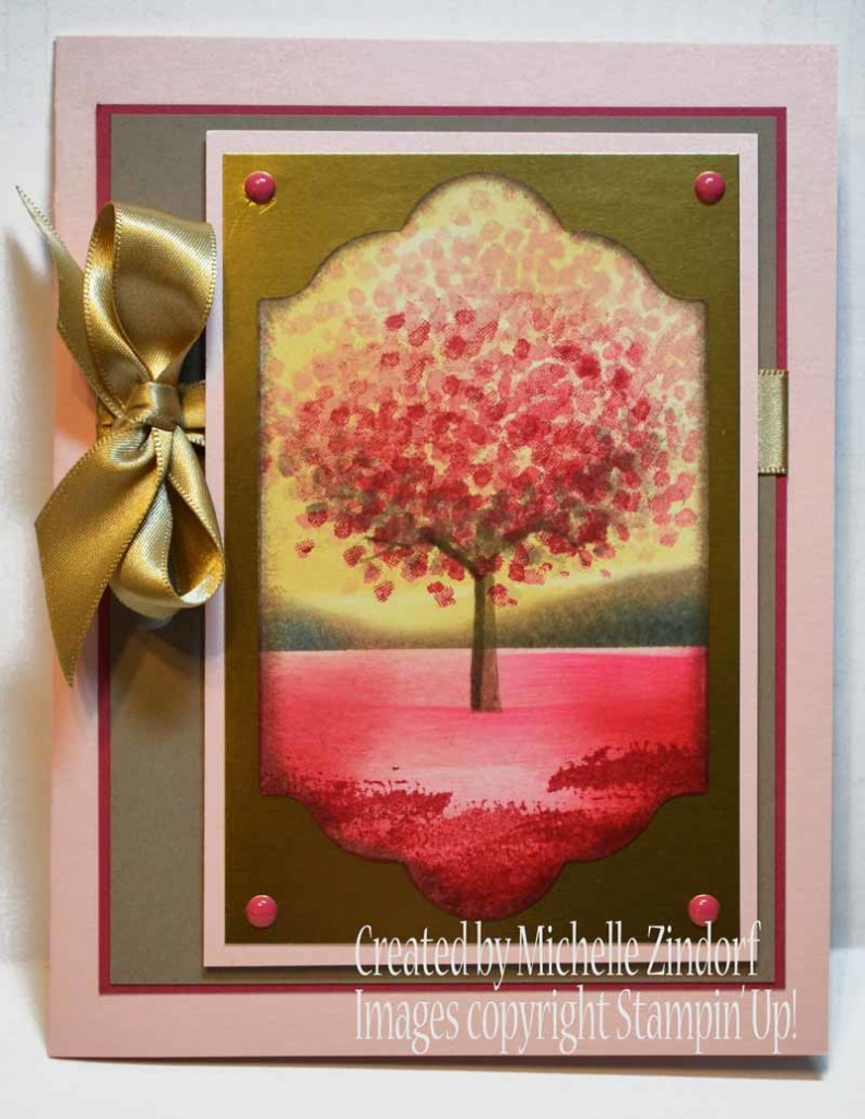 Evening at the Beach - Stampin' Up! card created by ...
