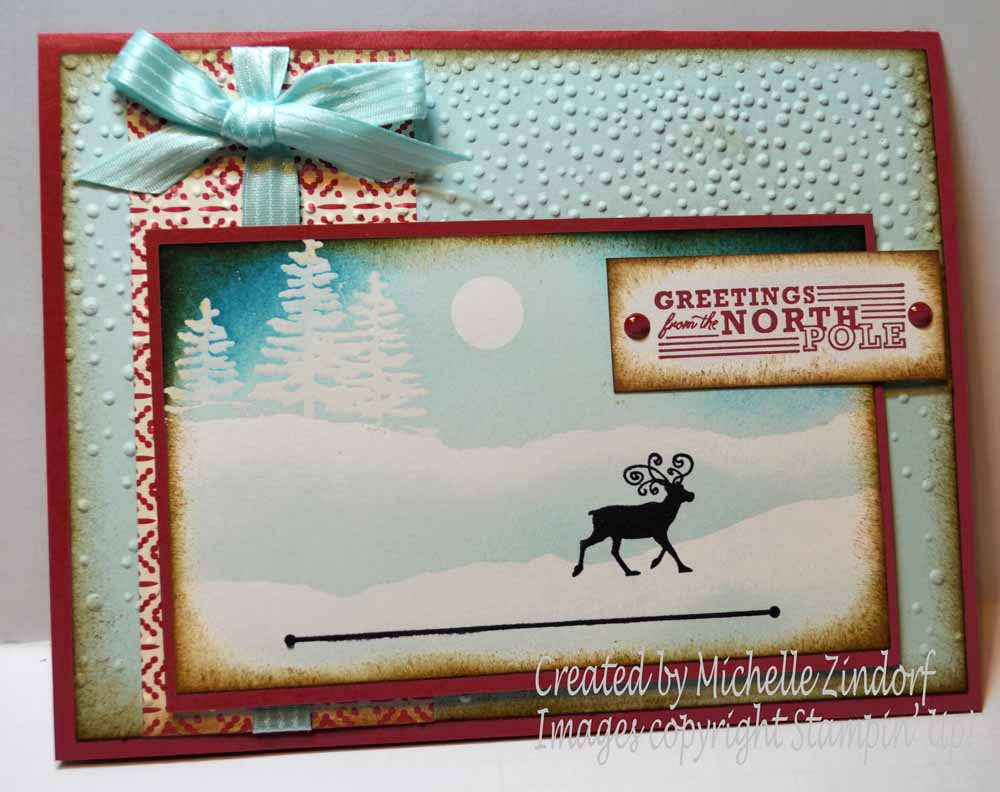Greetings from the north pole stampin up card dsc0025 m4hsunfo