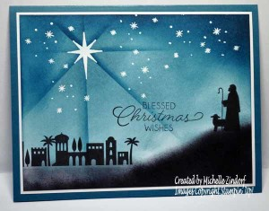 Night In Bethlehem - Stampin' Up! Card
