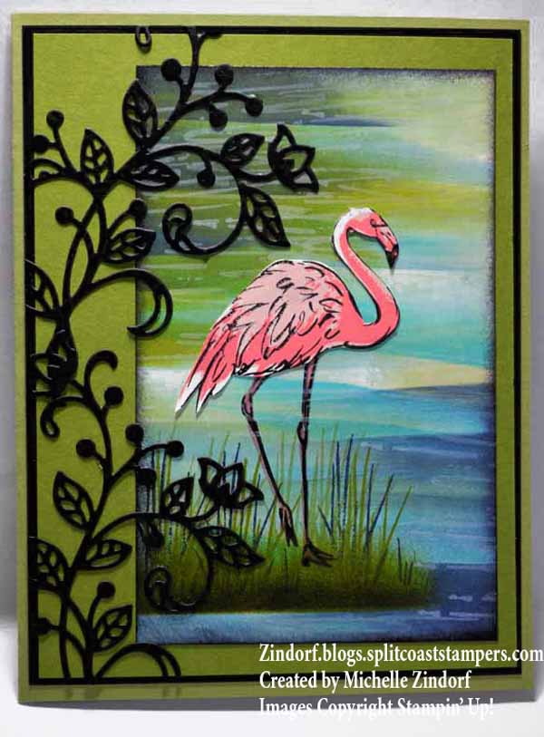 Flourished Flamingo