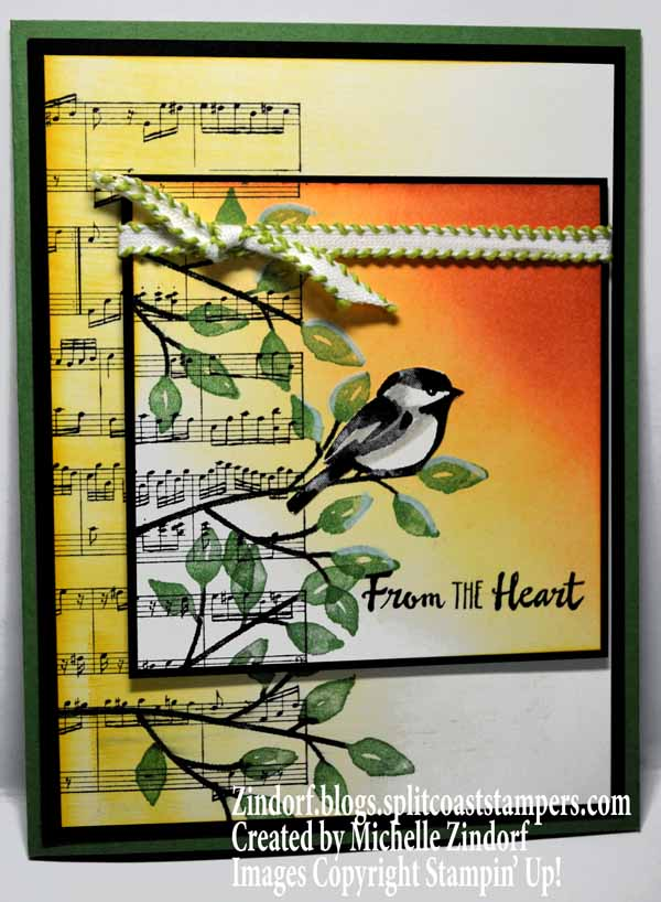 Heartfelt Chickadee