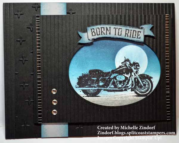 Textured Born to Ride