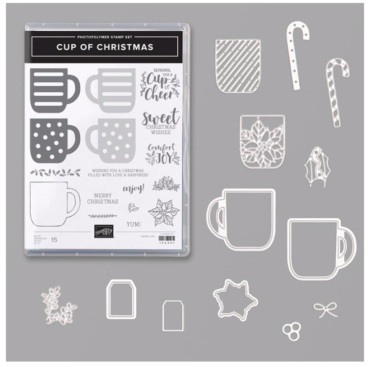 Enjoy a Cup – Stampin' Up! Card |