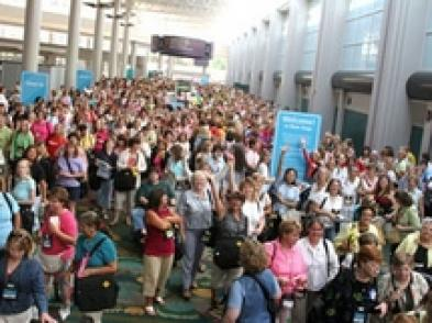 Convention attendees